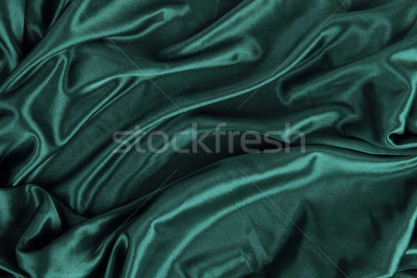 Sombre vert satin soie velours drap Photo stock © Akhilesh