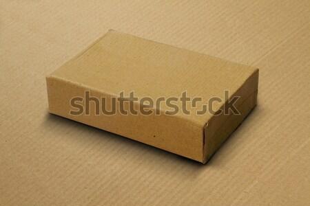 Recycled Card Board Box / Carton for Mockup Stock photo © Akhilesh
