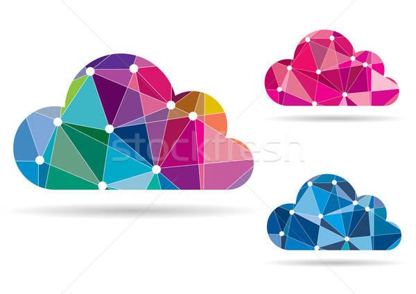 Streszczenie kolorowy aplikacje internetowych technologii Zdjęcia stock © Akhilesh