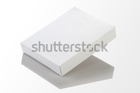 Blank White Paper / Card Box for Mockup Stock photo © Akhilesh
