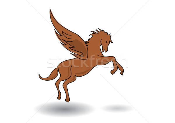 pegasus - horse with wings Stock photo © Akhilesh