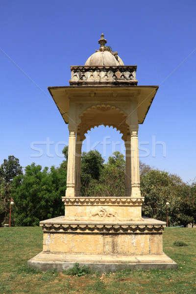 Historische architectuur boog bouw asia Stockfoto © Akhilesh