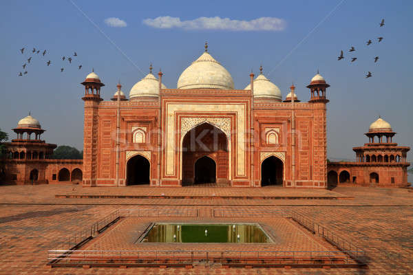 Mausoleum next to Taj Mahal, Agra, Uttar Pradesh, India Stock photo © Akhilesh