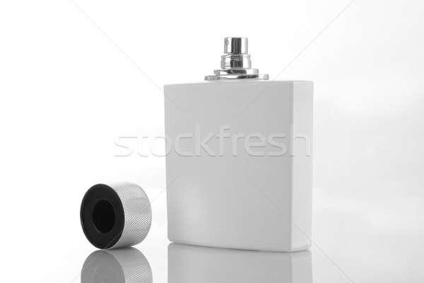 белый духи бутылку Cap макияж Сток-фото © Akhilesh