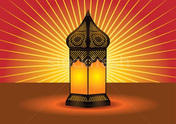 ストックフォト: 階 · ランプ · 光 · 芸術 · アーキテクチャ