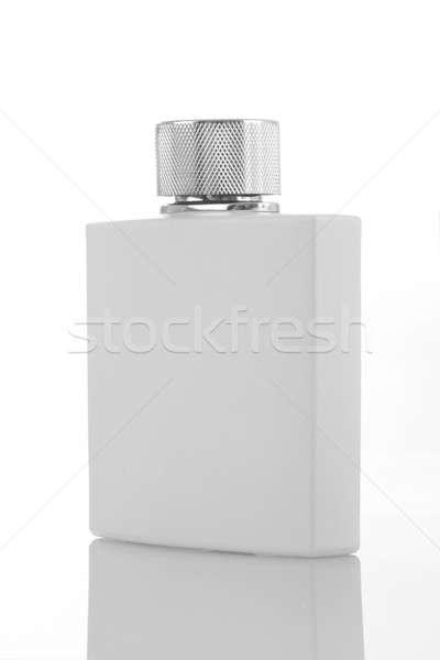 Biały perfum butelki pojemnik spray Zdjęcia stock © Akhilesh