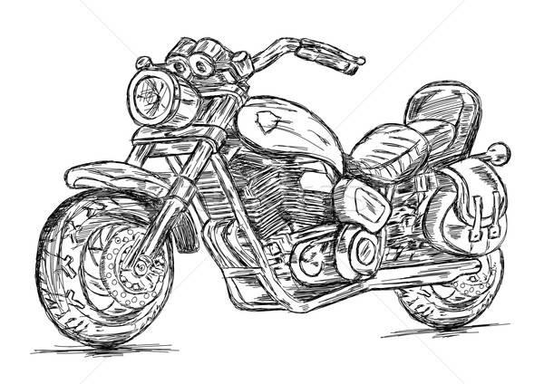 Detailed Bike Vector EPS Illustration Stock photo © Akhilesh