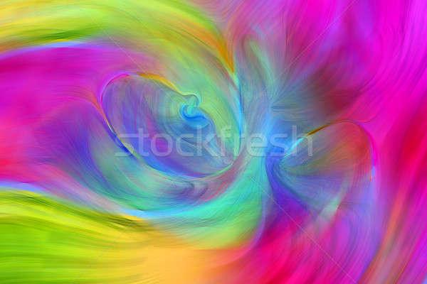 Abstract trillend kleurrijk behang gekleurd Blur Stockfoto © Akhilesh