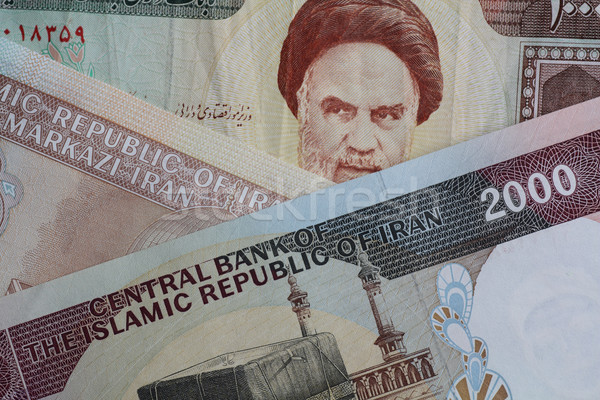 iranian currency closeup Stock photo © Akhilesh