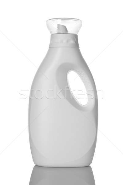 Bianco lavanderia detergente liquido bottiglia Foto d'archivio © Akhilesh