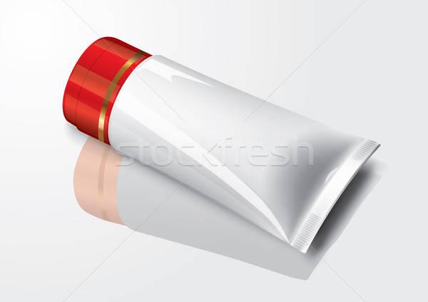 Trucco tubo crema pack salute Foto d'archivio © Akhilesh