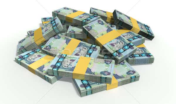 Dirham Notes Scattered Pile Stock photo © albund