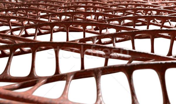 DNA mikro mikroskopijny widoku wzór stylu Zdjęcia stock © albund