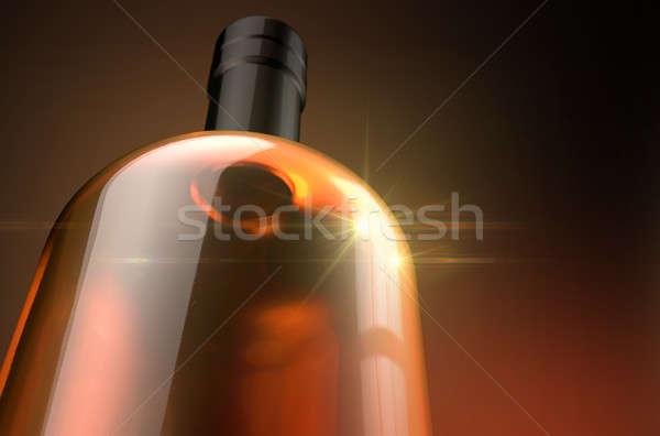 általános alkohol üveg alkoholos ital szeszélyes sötét Stock fotó © albund