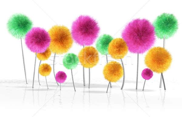Fantasy Dandelion Trees Stock photo © albund