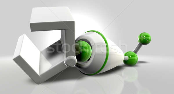Detached Mechanical Arm Stock photo © albund