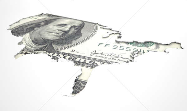 Recessed Country Notes USA Stock photo © albund