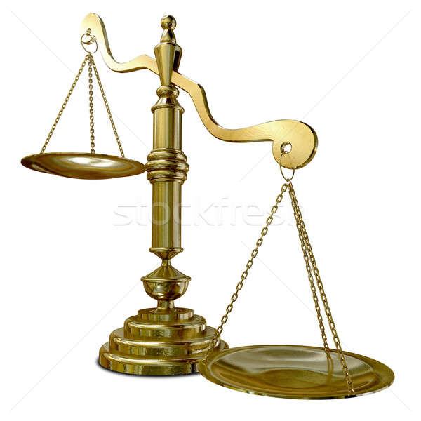 Inequality Scales Stock photo © albund