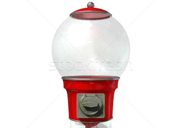 Gumball Dispensing Machine Empty Stock photo © albund