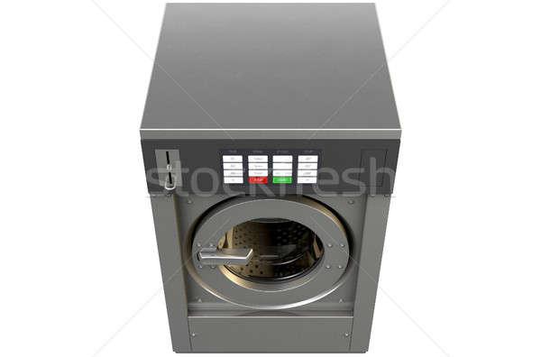 Industrial Washing Machine Stock photo © albund