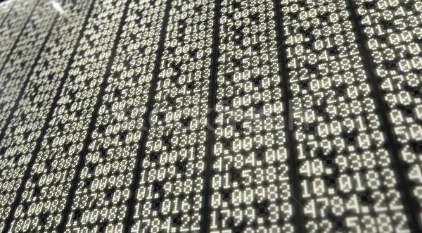 Сток-фото: Фондовый · рынок · цифровой · совета · индикатор · численный