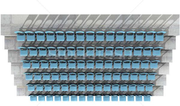 Numbered Stadium Seats Stock photo © albund