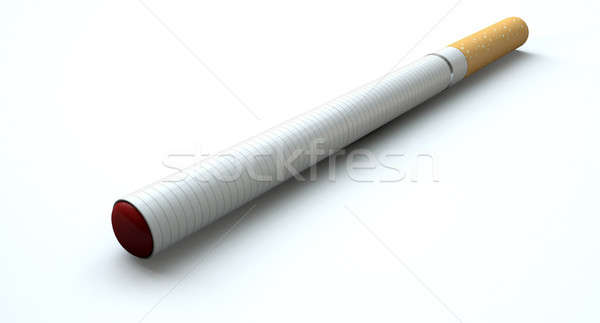 Electronic Cigarette Isolated Stock photo © albund
