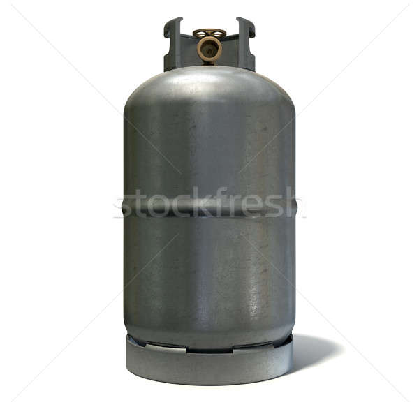Stock photo: Gas Cylinder