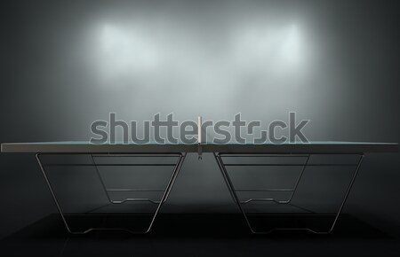 Table Tennis Table Stock photo © albund