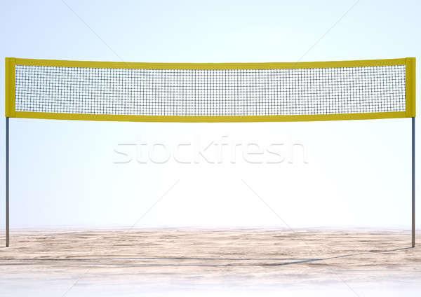 Volleyball Net Stock photo © albund