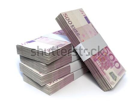 Brits pond merkt bankbiljetten geïsoleerd Stockfoto © albund