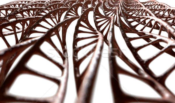 ДНК микро микроскопический мнение шаблон стиль Сток-фото © albund
