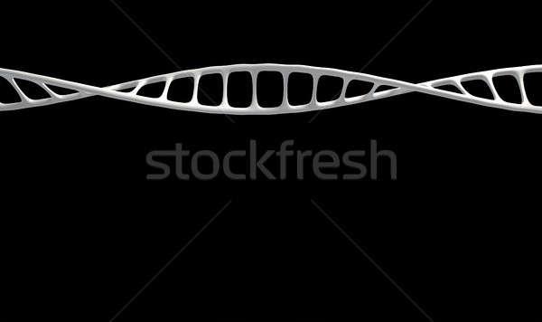 DNA mikro mikroskopijny widoku stylu Zdjęcia stock © albund