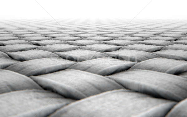 Mikro kumaş 3d render mikroskobik görmek basit Stok fotoğraf © albund