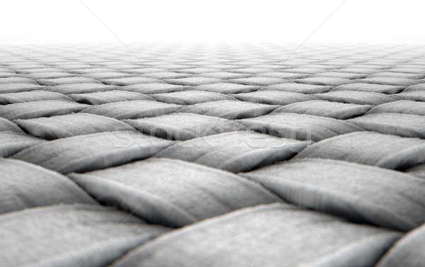 Micro tecido 3d render microscópico ver simples Foto stock © albund