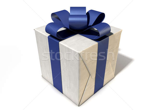Wrapped Package With Bow Stock photo © albund