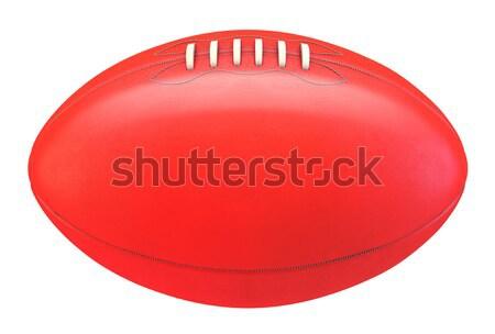 Ausztrál szabályok labda általános futball izolált Stock fotó © albund