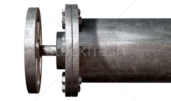 Metal Shutoff Valve Stock photo © albund