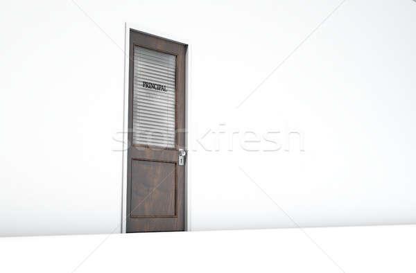 Door In Principal Room Stock photo © albund