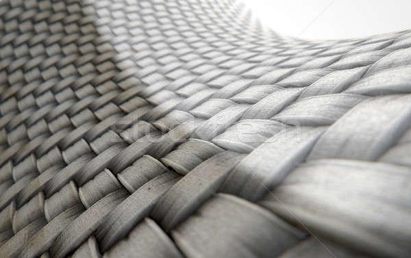Micro tessuto confronto rendering 3d microscopica view Foto d'archivio © albund