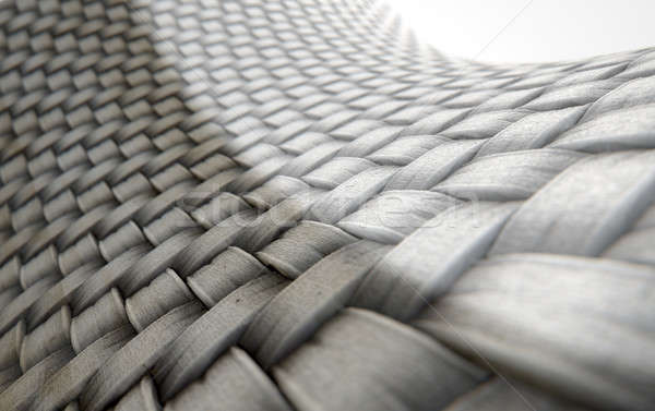 Micro tejido comparación 3d microscópico vista Foto stock © albund