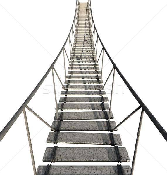 Rope Bridge Stock photo © albund