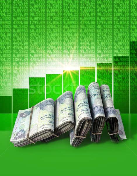 Positive Market Money Stock photo © albund