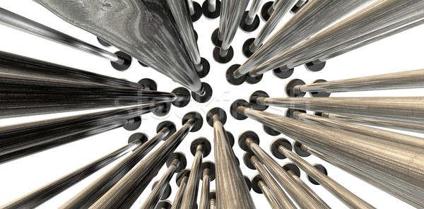 ногти массив аннотация макроса коллекция мнение Сток-фото © albund
