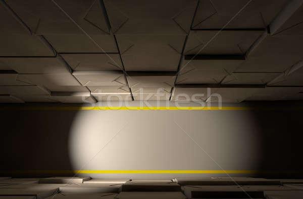 Stacked Boxes Warehouse Stock photo © albund