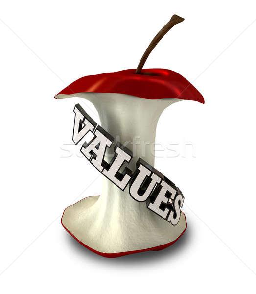 Core Values Stock photo © albund