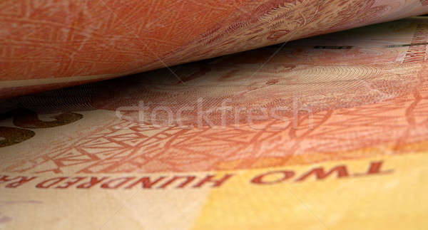 Separated Banknotes Close-up Detail Stock photo © albund