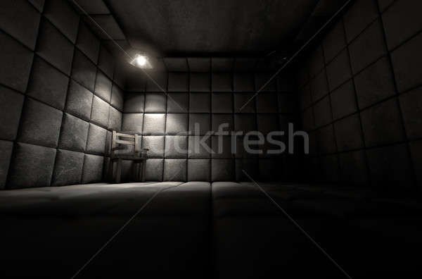 Padded Cell And Empty Chair Stock photo © albund