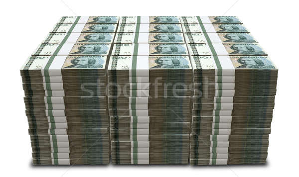 Swedish Krona Notes Pile Stock photo © albund