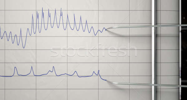 Lie Detector Test  Stock photo © albund